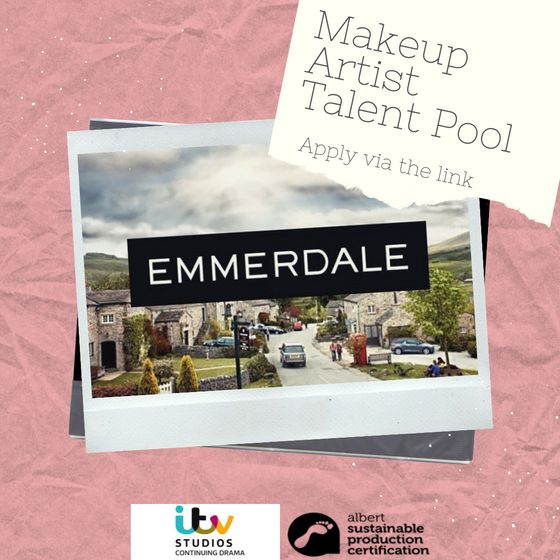 Join ITV Studio's pool of Make-up Artists!