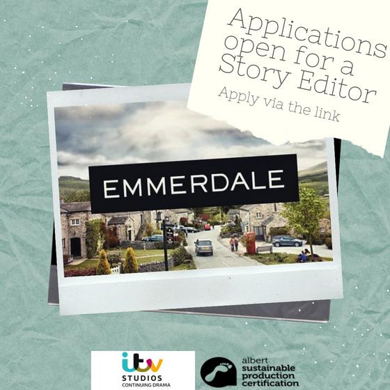 Story Editor on Emmerdale
