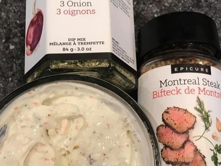 Creamy Steak 'n Onion Dip!