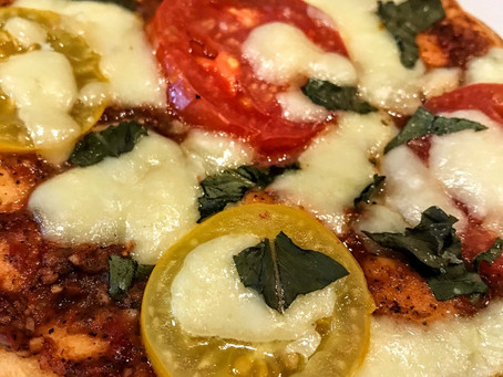 Margherita Pizza, with extra Sass