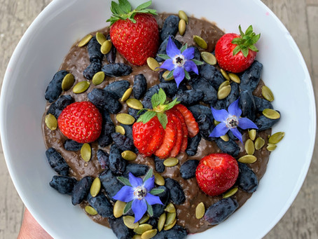 Steamy Mocha Breakfast Bowl