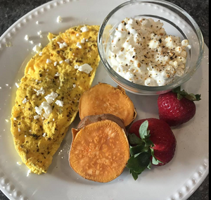 Good Food Real Results Omelet Breakfast