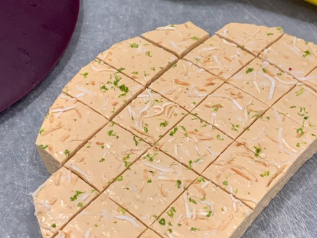 Toasted Coconut Lime Fudge/Nougat