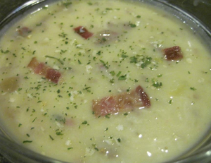 Baked potato soup with Epicures CCB, Epicure 3 Onion and Epicure Chicken Broth