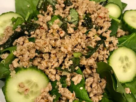 Thai Larb Salad (Gai Larb)