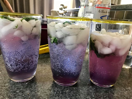 Hibiscus Bliss Mojito (or Fauxhito)