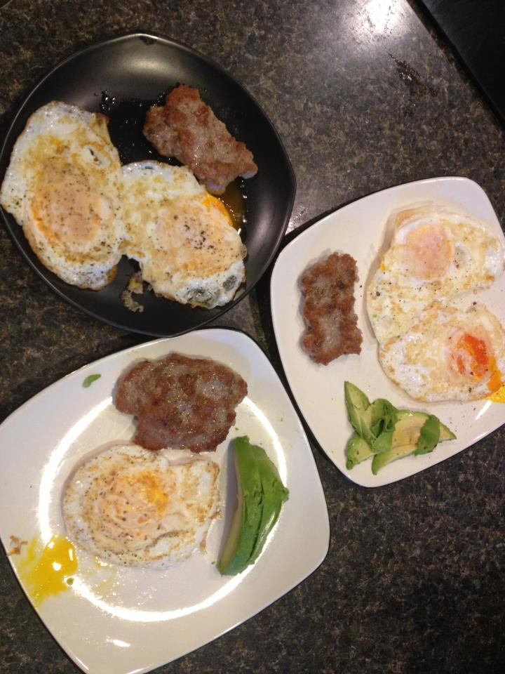 Breakfast sausages with epicures herbed garlic salt, epicures chili flakes & garlic and epicures tuxedo pepper