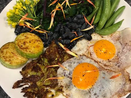 Zucchini HashBrown / Fritter