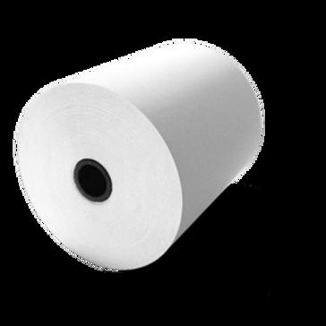 ورق لطابعات الكاشير حراري 70*80 مم , محور بلاستك 13/17 مم
