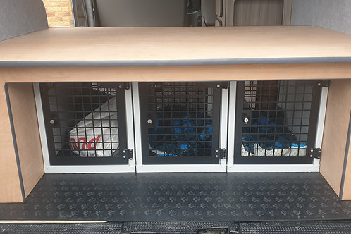LA Campers Dog Cage Box/ Seat