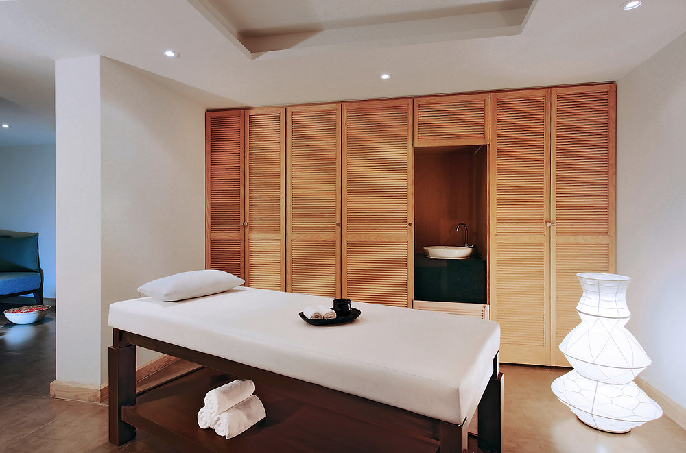 Nahm Spa treatment room
