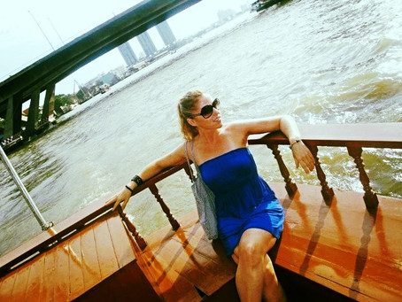 Chilling on the Chao Phraya River
