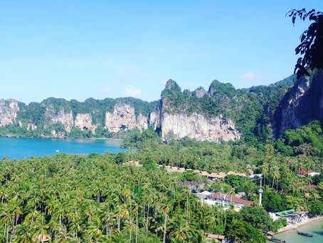 Basejumping in Railay & Tonsai