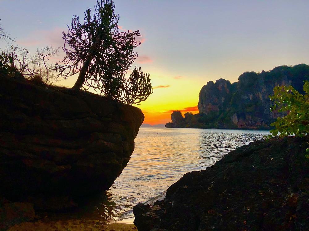 Nikki Busuttil Tonsai Sunset Krabi Thailand