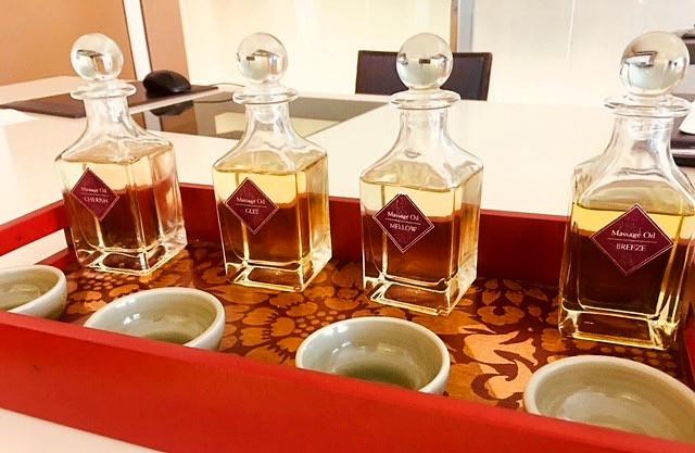 Devarana Spa Signature Massage Oils