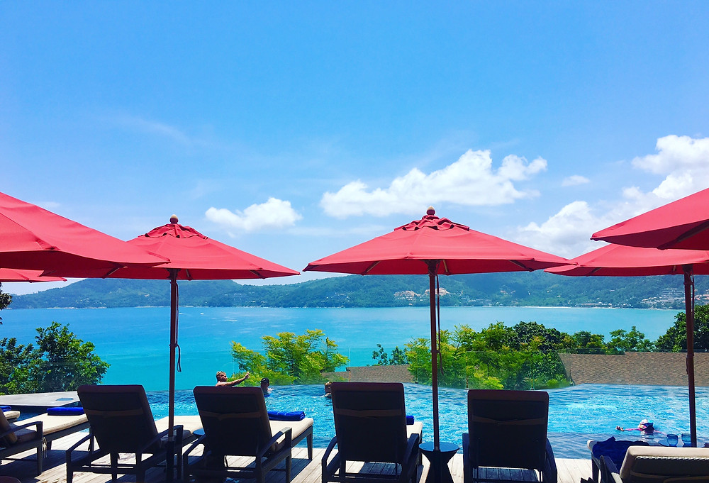 Poolside at  The Clubhouse in the Amari Phuket Ocean Wing