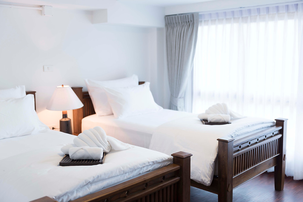 Superior Room with twin beds at The Tippanet boutique hotel