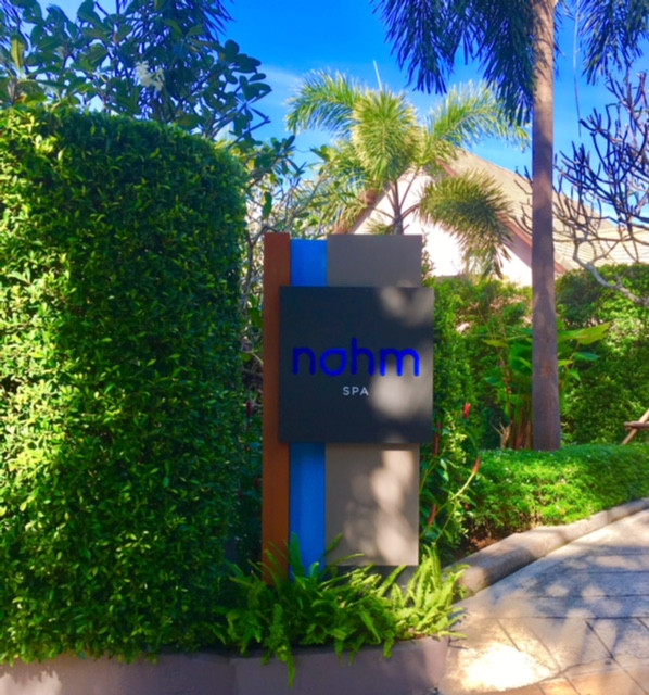 Nahm Spa entrance