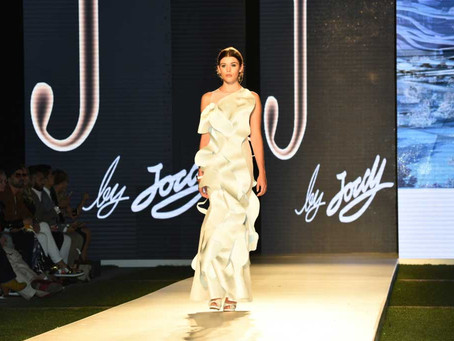 Cascading from Dubai to Vancouver: J By Jordy 'White Falls' Collection