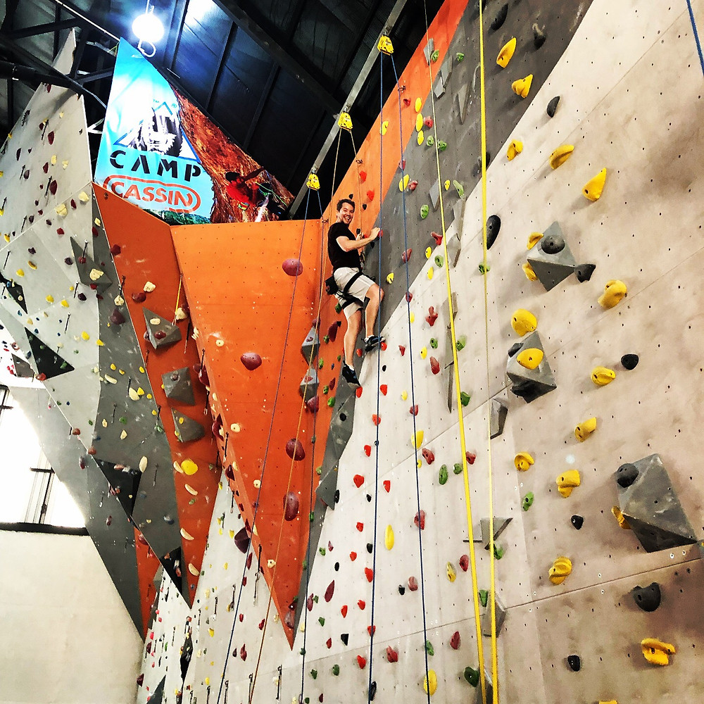 Indoor climbing is accessible for everyone!