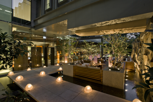 Zuma Bangkok's outdoor terrace