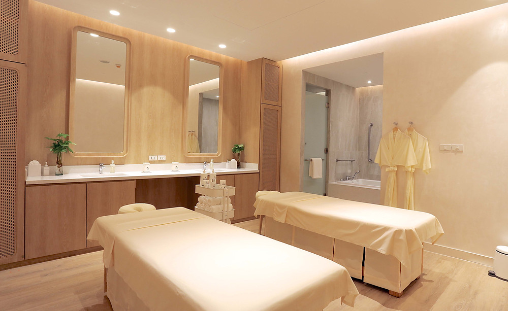 Namm Spa Bangkok double treatment room