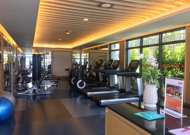 The Clubhouse Fitness Room at Amari Phuket Ocean Wing