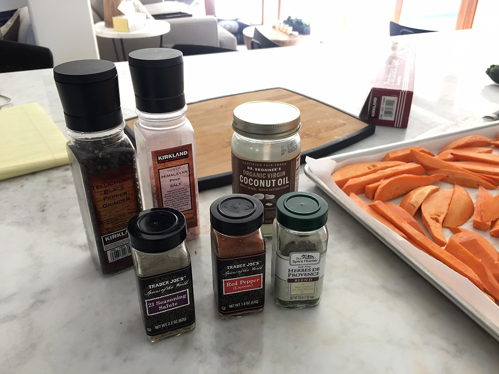Herbs and spices to season