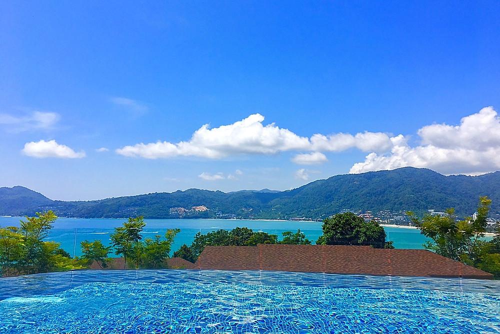 View from Amari Phuket over Patong Bay