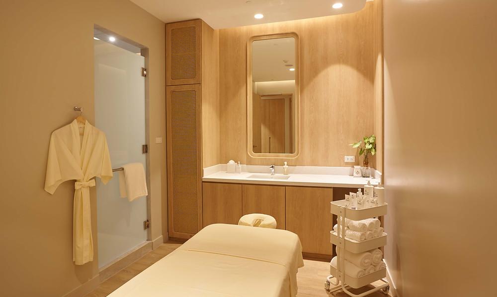 Namm Spa Bangkok single treatment room