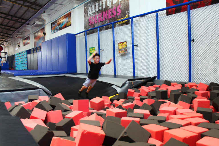 Amped Foam Pit to Fly or Somersault