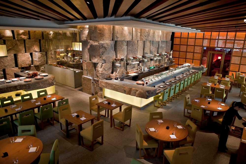 Zuma Bangkok's indoor dining arena