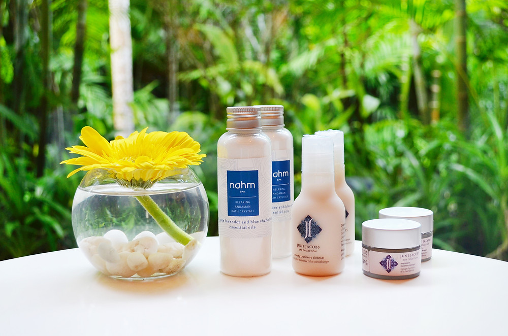 Nahm Spa products