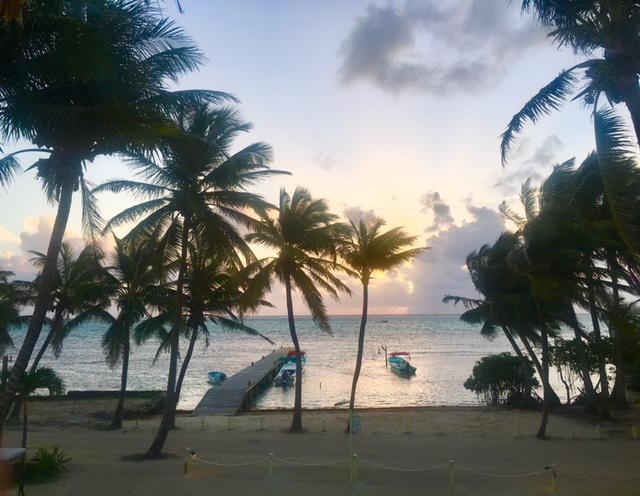 Breathtaking sunsets in Belize