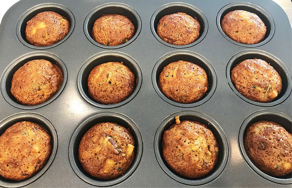 Up to 24 standard-sized muffins