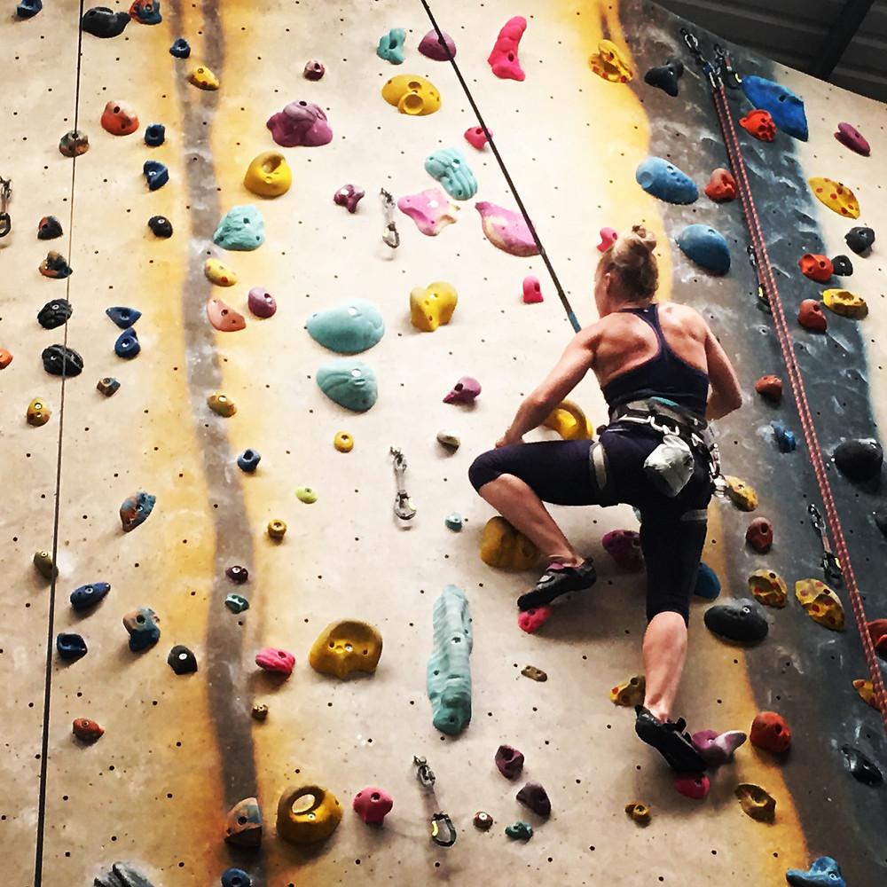 Get fit Indoor Climbing