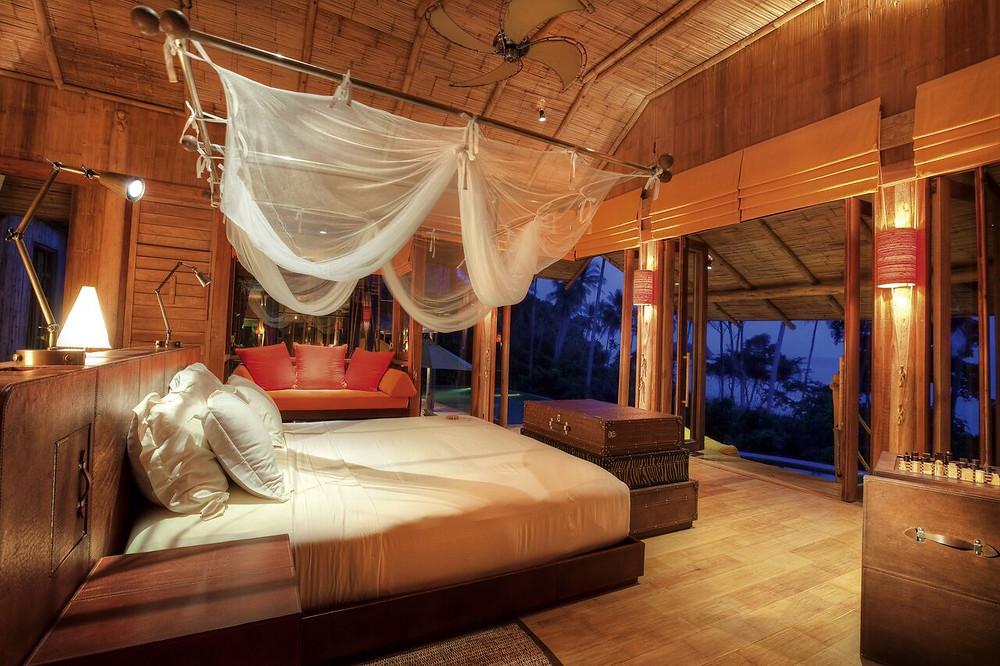 Soneva Kiri Villa Bedroom