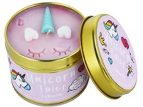 Bomb - Tinned Candle - Unicorn Tales