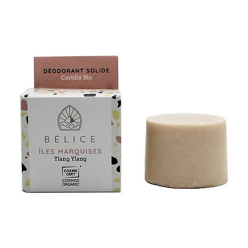 Bélice Îles Marquises Blok Deodorant Ylang Ylang Bio
