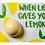 Thumbnail: Bomb - Blaster Card - When Life Gives You Lemon
