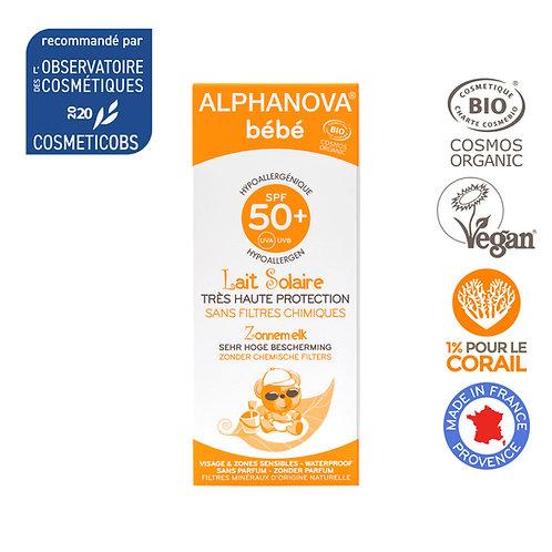 Alphanova Sun - Bio SPF50+ Baby Hypoallergene Zonnemelk