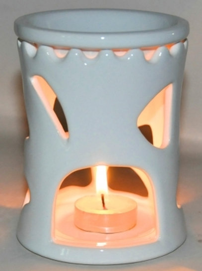 Oil Burner Open Art White