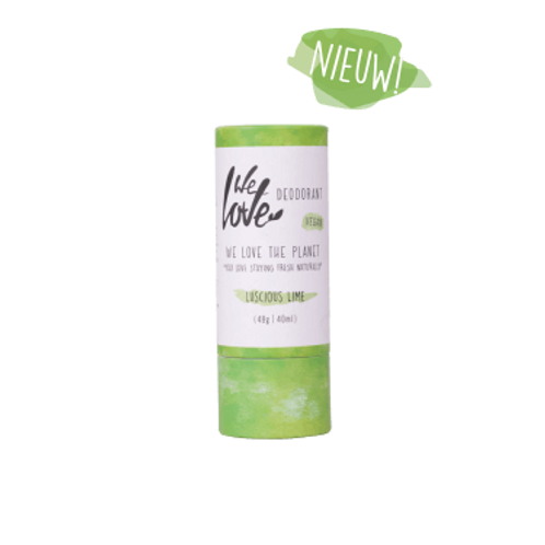 We Love The Planet Natuurlijke deostick Luscious Lime