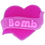 Thumbnail: Bomb - Hearts Desire - Soap Shapes