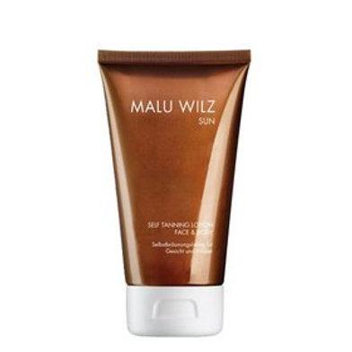 Malu Wilz Self Tanning Lotion Face & Body 150 Ml