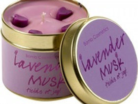 Bomb - Tinned Candle -  Lavender Musk