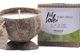 We Love The Planet - Coconut Candle - Darjeeling Delight