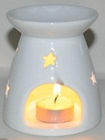 Oil Burner Big Star White