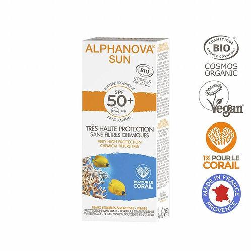 Alphanova Sun - Bio SPF50 Allergische gevoelige huid