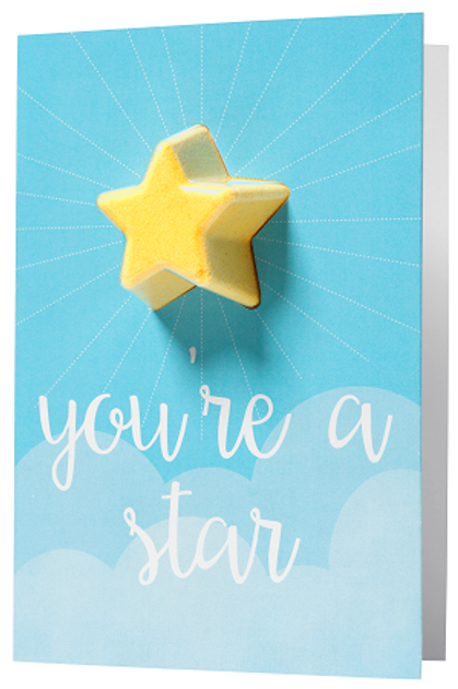 Bomb - Blaster Card - You're a star
